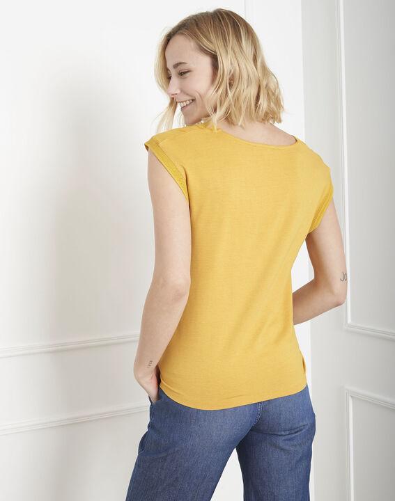 Top jaune bimatière Vivace (4) - Maison 123