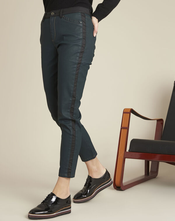 Green jeans with black stripes (1) - 1-2-3