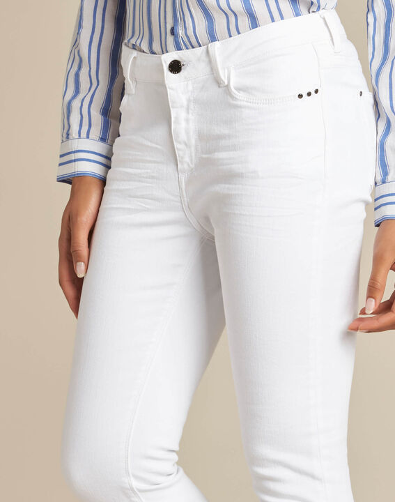 Vendôme white 7/8 length jeans PhotoZ | 1-2-3