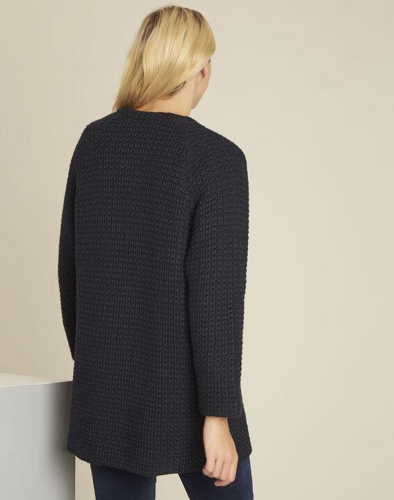 Veste noire laine mélangée Boby (4) - Maison 123
