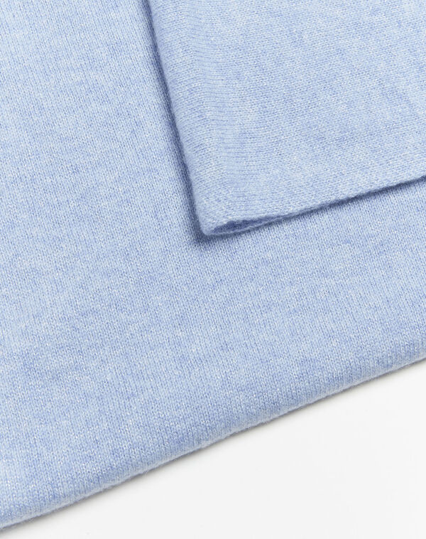 Felicia azure cashmere scarf (1) - 1-2-3