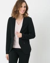 Veste de tailleur noire maite noir.