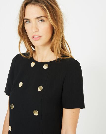 Amanda stylish black dress (3) - 1-2-3