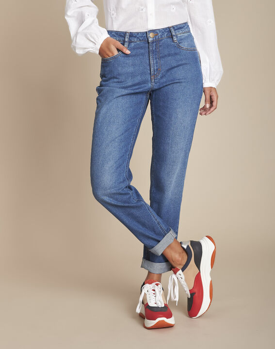 Le Confort fit : jean boyfriend stone used Sacha PhotoZ | 1-2-3