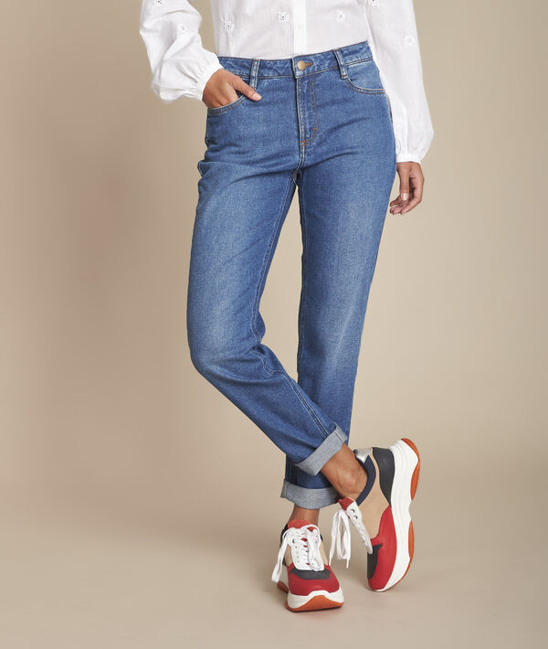 Le Confort fit : jean boyfriend stone used Sacha PhotoZ | 1-2-3