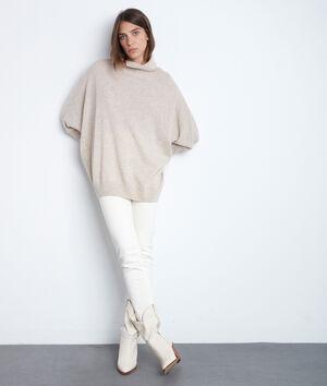 L'iconique slim Suzy en coton bio ivoire