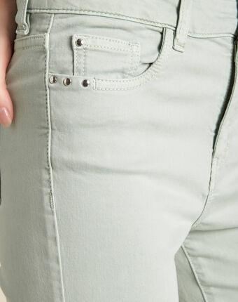 Vendôme slim-cut standard size almond jeans almond.