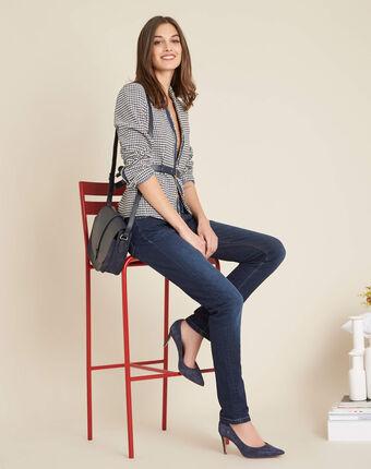 Vendôme slim-cut standard size raw-denim jeans dark indigo.