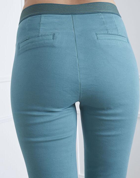 Pantalon vert slim chino Calici (3) - Maison 123