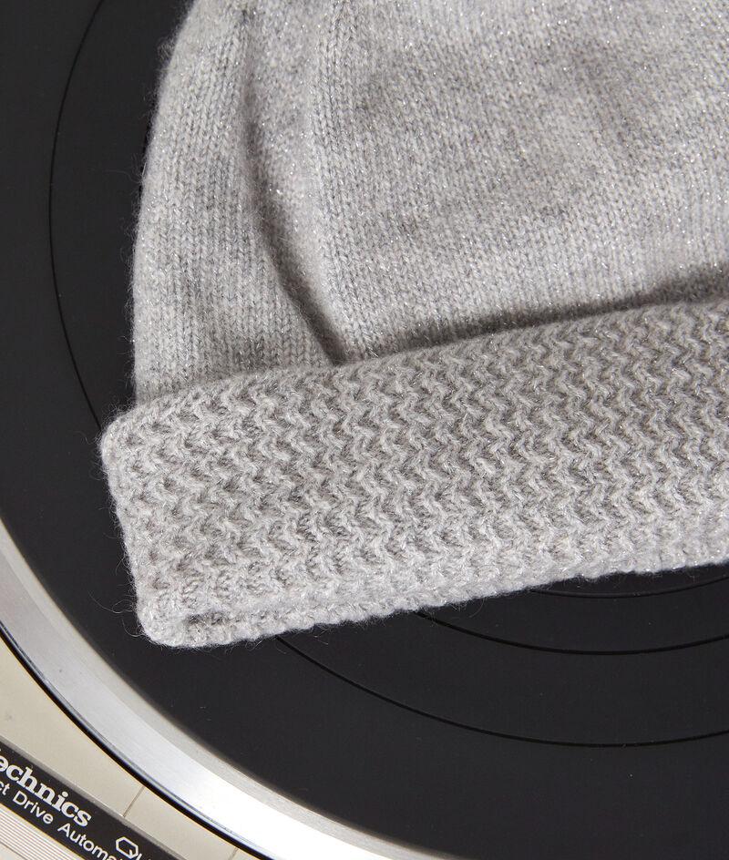 Bonnet en cachemire recyclé gris Ian PhotoZ | 1-2-3