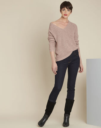 Blush pale pink pullover powder.