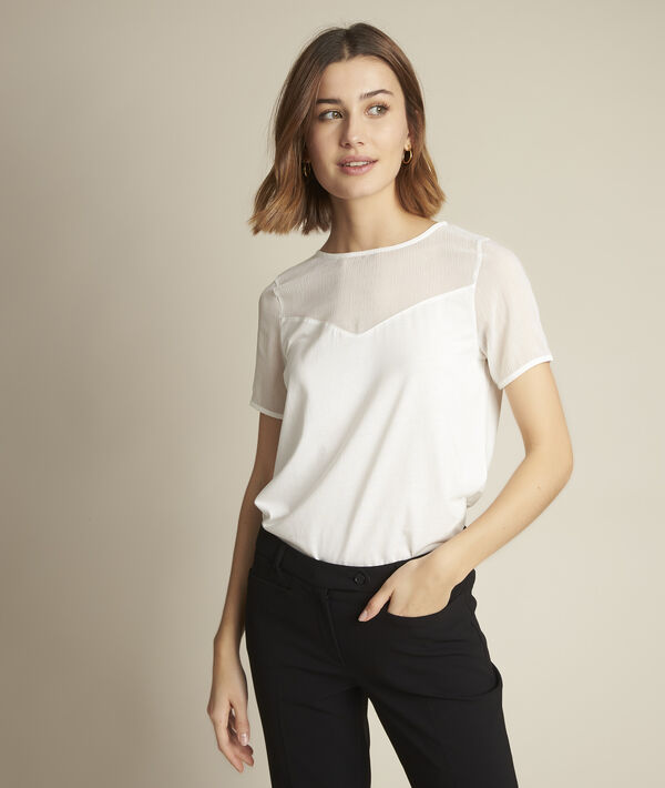 Tee-shirt plumetis Romane PhotoZ | 1-2-3