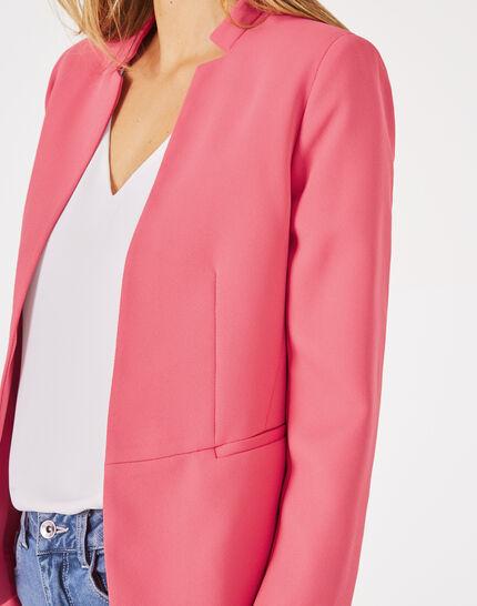 Veste de tailleur rose Bea (3) - 1-2-3