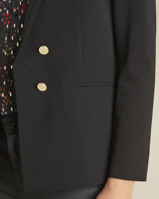 Veste noire boutons dorés Soho (2) - 1-2-3