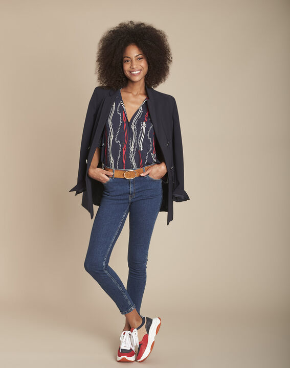 L'Audacieux skinny jean brut Sally PhotoZ | 1-2-3
