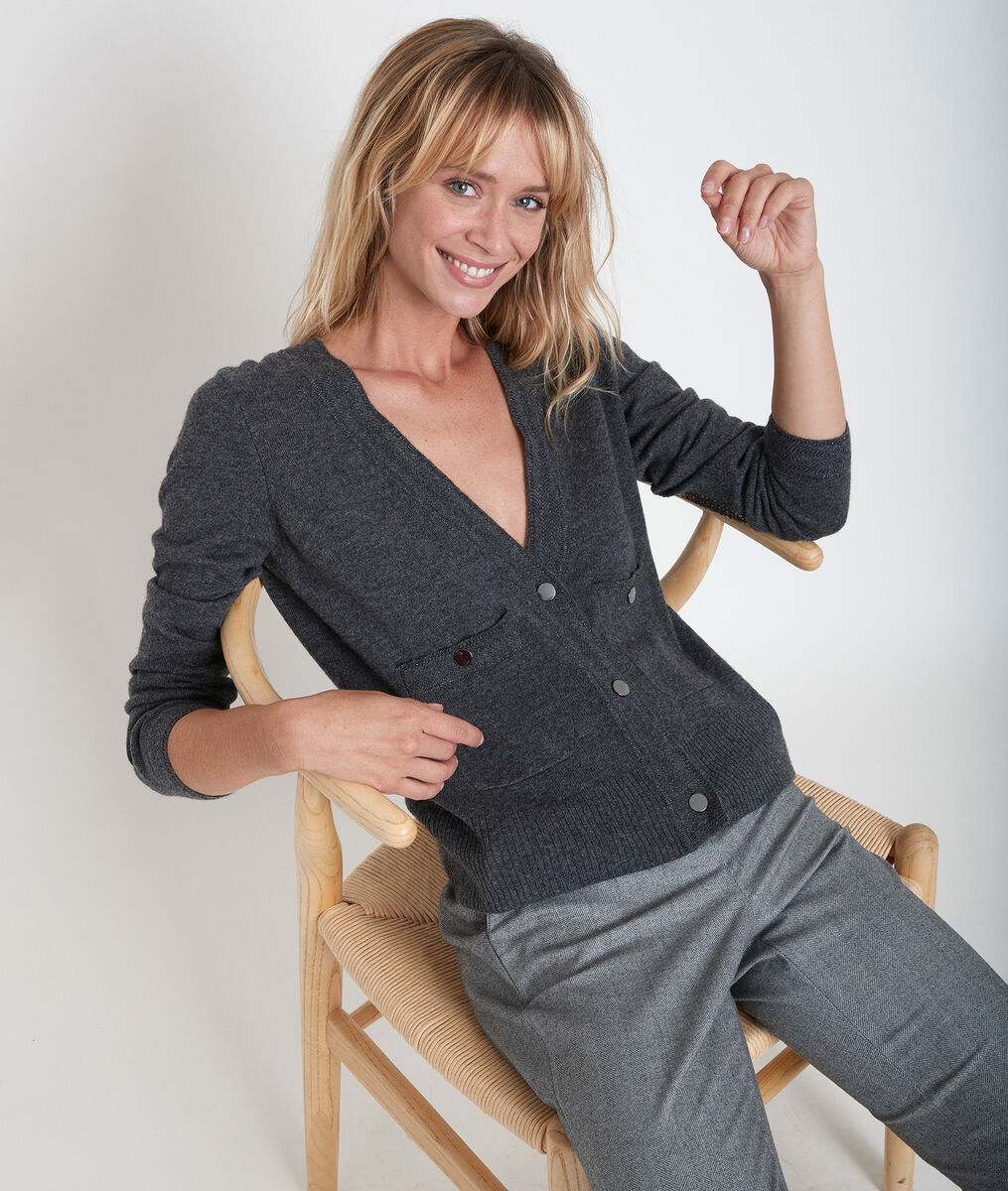Gilet en laine et cachemire Rita PhotoZ | 1-2-3