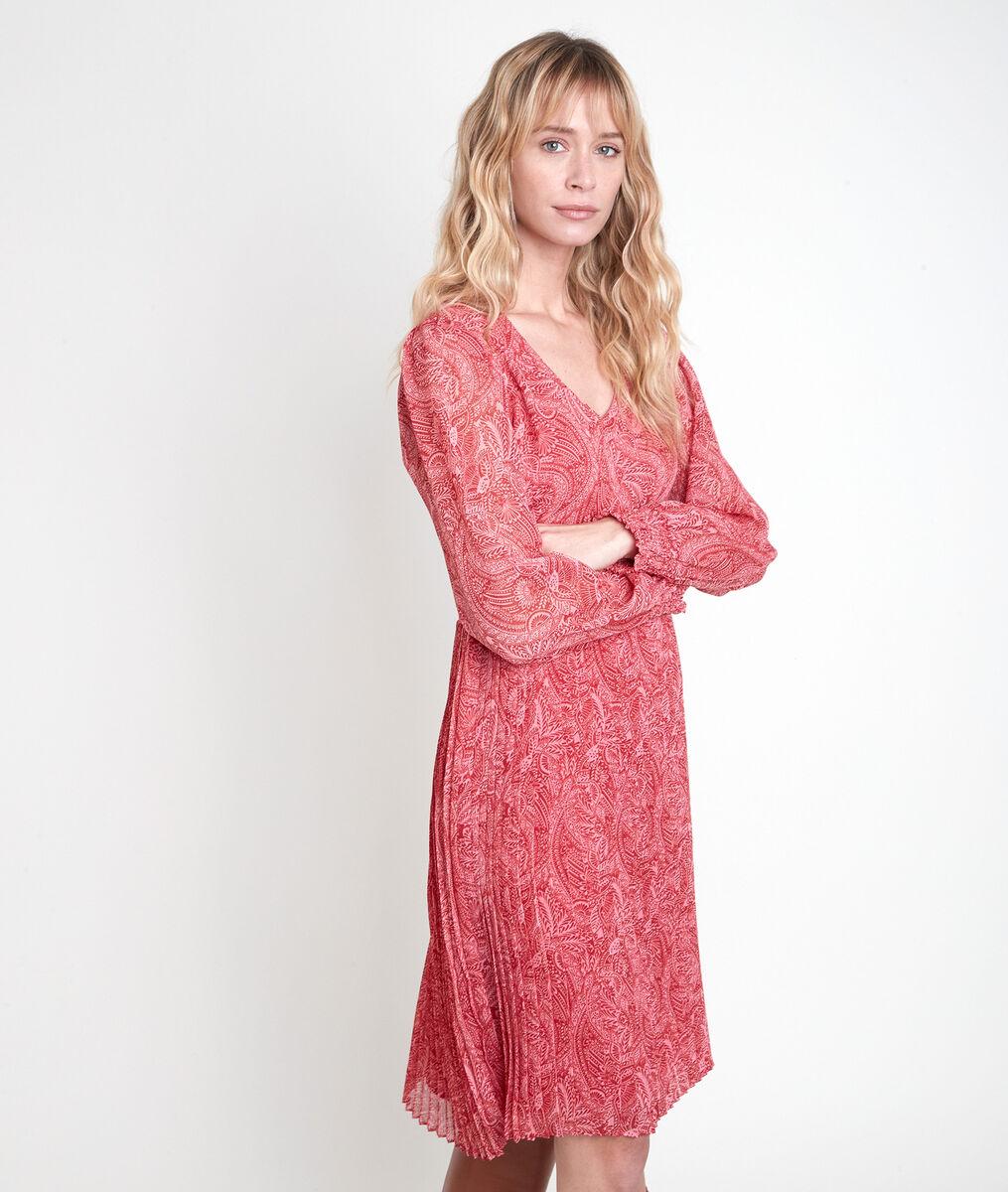 Robe imprimée plissée Lilo PhotoZ | 1-2-3