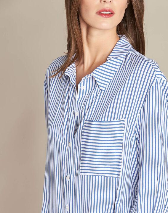 Darwin blue striped shirt (1) - 1-2-3