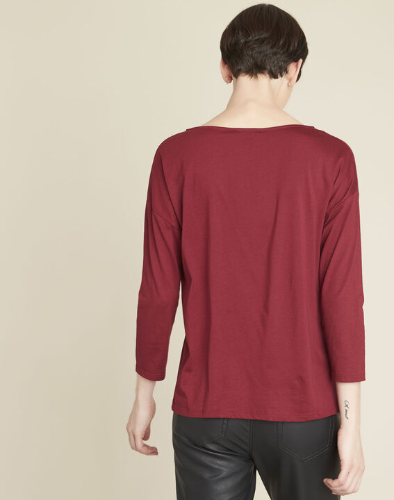 Gini embroidered red t-shirt (4) - 1-2-3