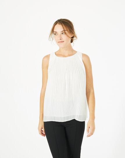 Top blanc plissé Erica (3) - 1-2-3