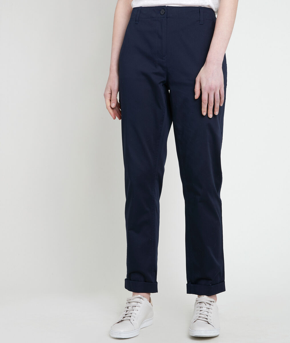 Pantalon chino marine Francesco PhotoZ   1-2-3