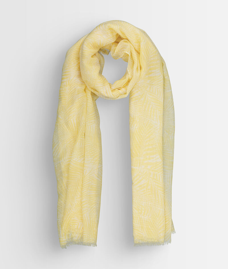 Foulard imprimé jaune Paya PhotoZ | 1-2-3