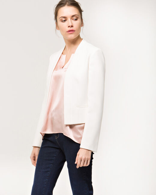 Louise ecru cropped jacket (2) - 1-2-3