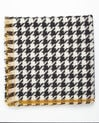 Fautine houndstooth wool scarf (1) - 1-2-3