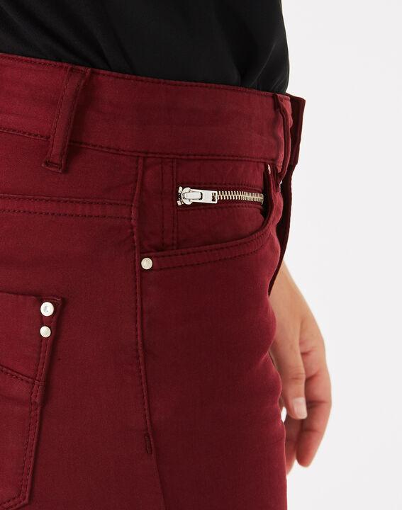Pantalon slim bordeaux William (5) - 1-2-3