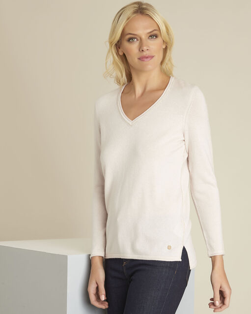Pull nude laine cachemire boogie (1) - 1-2-3