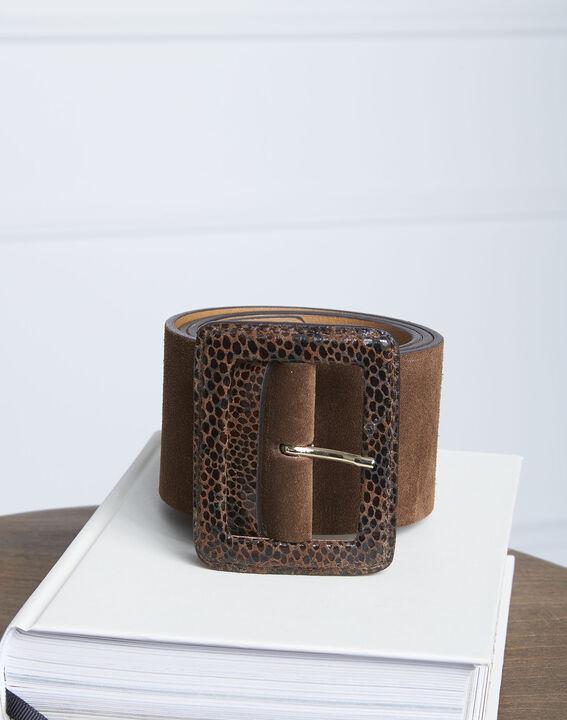 Ceinture en cuir avec boucle fantaisie Alyson PhotoZ | 1-2-3