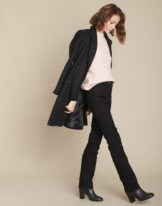 L'Original 123 : jean droit noir Sonia PhotoZ | 1-2-3