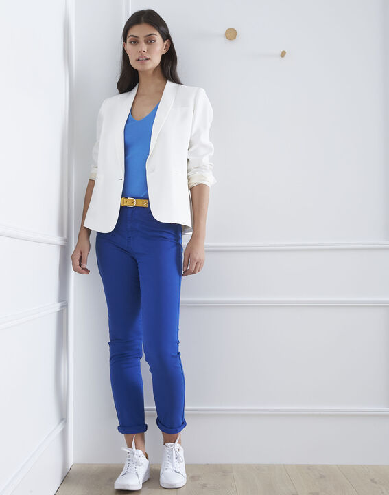 Blaue Slim Jeans Vendome (2) - Maison 123