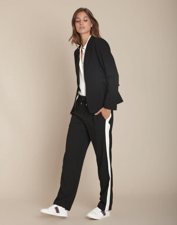 Pantalon noir jogging Eder PhotoZ | 1-2-3