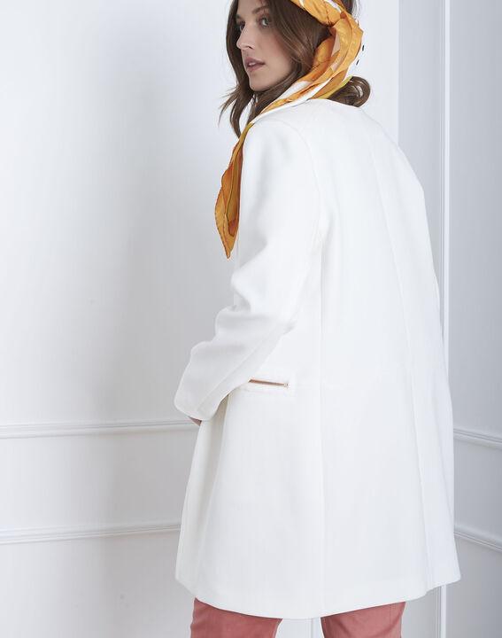 Manteau écru zips Kaya (4) - Maison 123