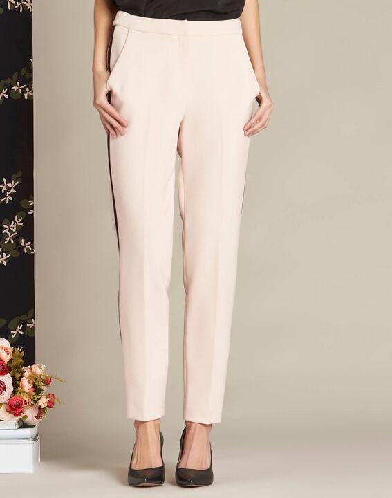 Pantalon nude compacte bande latérale Vadim (3) - 1-2-3