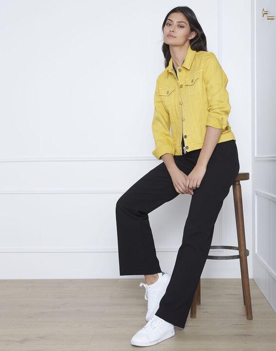 Veste jaune en jean Clem (3) - Maison 123