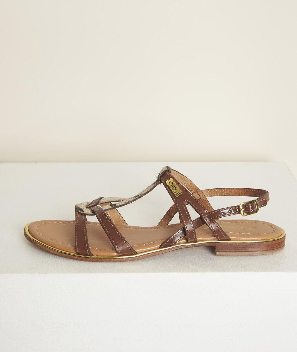Sandales en cuir jackel les tropéziennes PhotoZ | 1-2-3