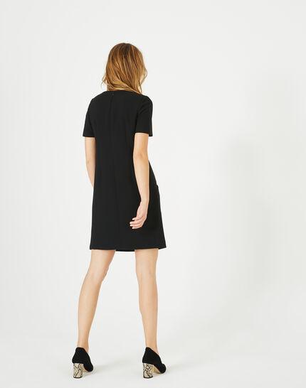 Robe noire fantaisie Amanda (5) - 1-2-3