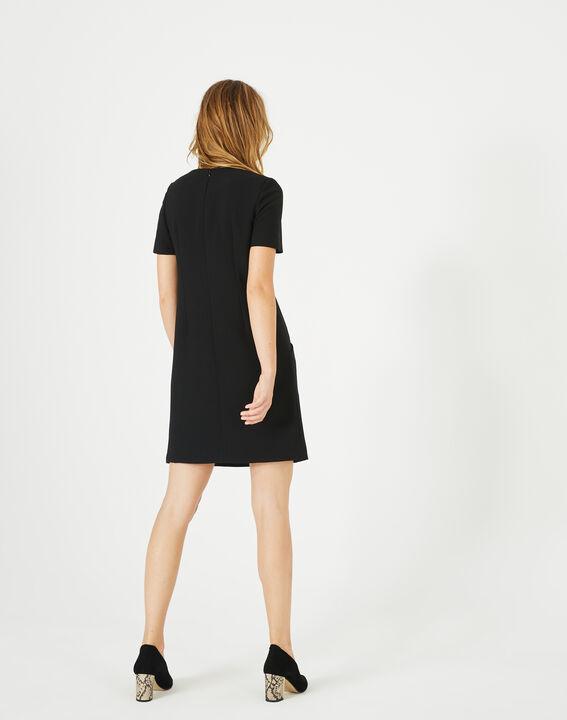 Amanda stylish black dress (5) - 1-2-3