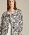 Kelly jacquard jacket in leopardskin print PhotoZ | 1-2-3