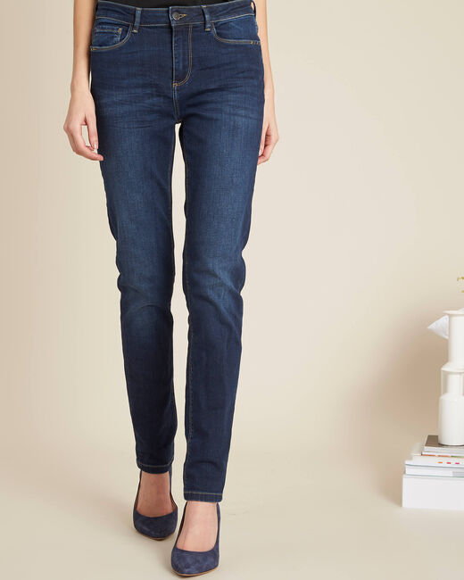 Vendôme slim-cut standard size raw-denim jeans (2) - 1-2-3