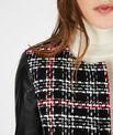 Veste noir & blanc à carreaux Danae PhotoZ | 1-2-3