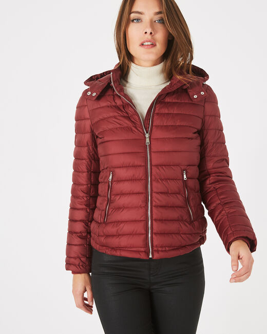 Louise red quilted jacket (1) - 1-2-3