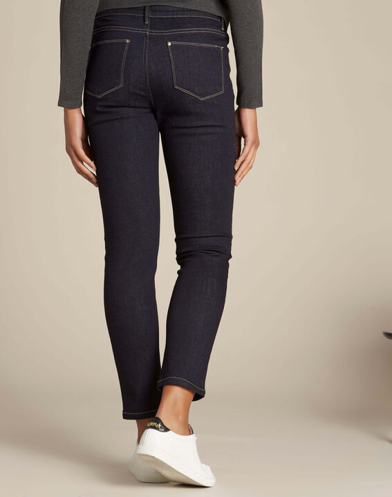 Vendôme navy blue slim-cut jeans (4) - 1-2-3