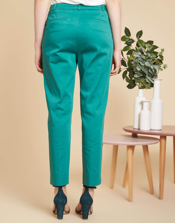 Rubis blue tapered trousers (4) - 1-2-3