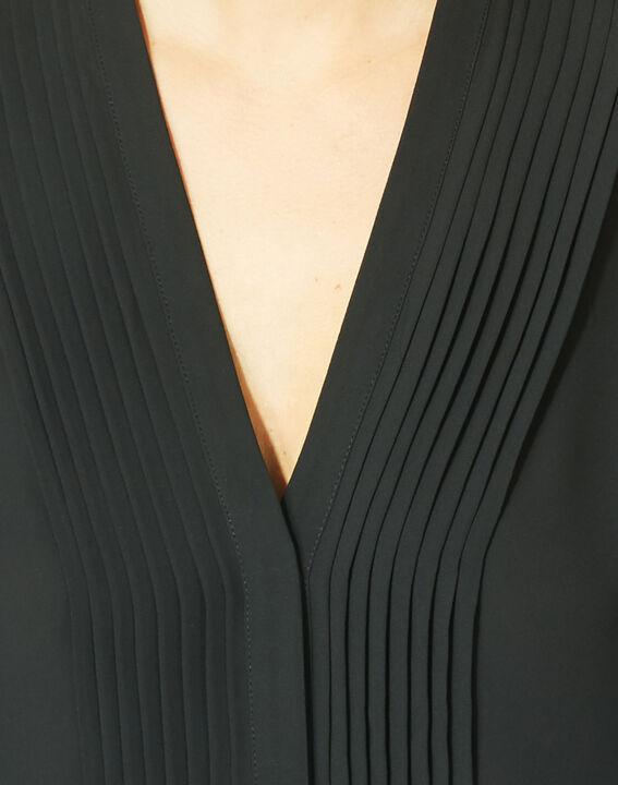Blouse noire manches longues Doris (3) - 1-2-3