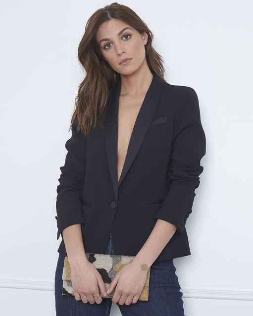 Veste noire tailleur Sabrina (1) - 1-2-3