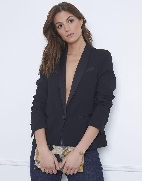 Veste noire tailleur Sabrina PhotoZ | 1-2-3