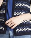 Kobaltblauwe vest met strepen Bellini (2) - 37653